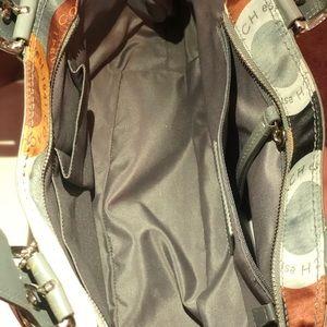 Coach Bags - COACH SOHO OP ART GRAY/ MULTI COLOR SATIN HANDBAG
